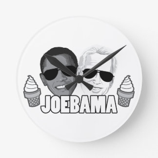 JoeBama Ice Cream Round Clock