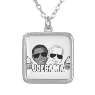 JoeBama Ice Cream Silver Plated Necklace