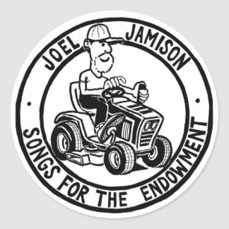 Joel Jamison's Favorite Stickers! Classic Round Sticker