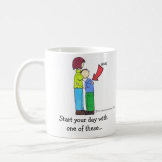 Joey and Mom mug