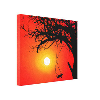 Joey Tree Wrapped Canvas