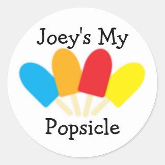 Joey's My Popsicle Sticker