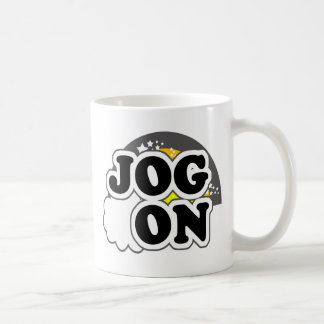 Jog On Classic White Coffee Mug