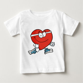 Jogging Heart Baby T-Shirt