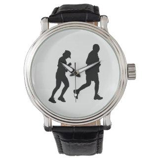 Jogging Silhouette Watch