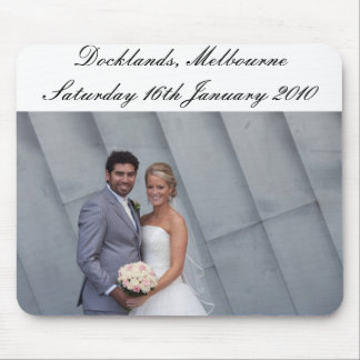 Joh & Nuni's VIC Wedding Mouse Pad