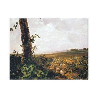 Johan Christian Dahl View near Prestø Canvas Print