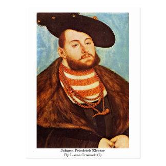 Johann Friedrich Elector By Lucas Cranach (I) Postcard