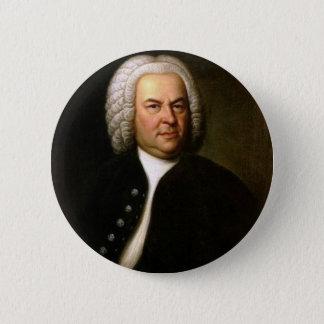 Johann Sebastian Bach 2 Inch Round Button