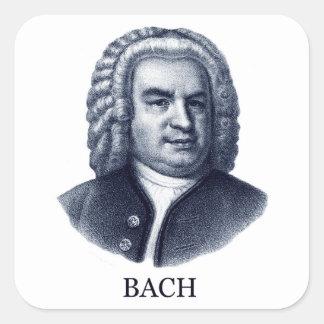 Johann Sebastian Bach, blue Sticker