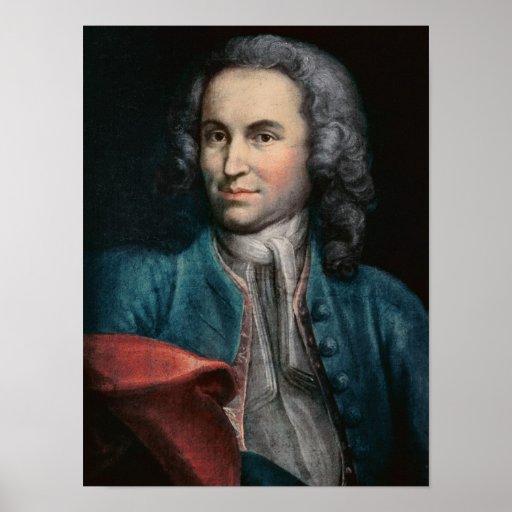 Johann Sebastian Bach  c.1715 Poster