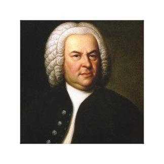 Johann Sebastian Bach Canvas Print