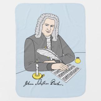 Johann Sebastian Bach drawn Stroller Blankets