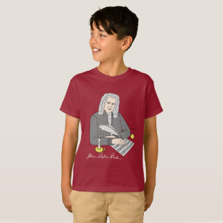 Johann Sebastian Bach drawn T-Shirt