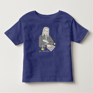 Johann Sebastian Bach drawn Toddler T-shirt