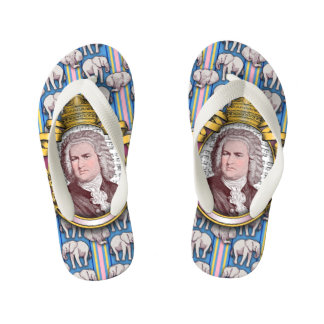 Johann Sebastian BACH Kid's Flip Flops