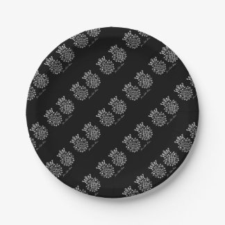 Johann Sebastian Bach seal Paper Plate