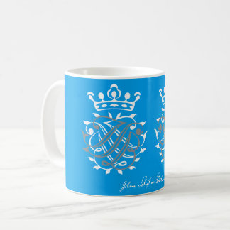 Johann Sebastian Bach seal x 2 Coffee Mug