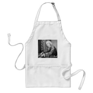 Johann Sebastian Bach Stuff Standard Apron