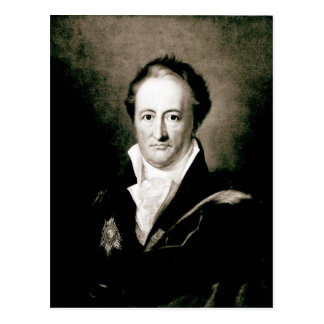 Johann Wolfgang Goethe Postcard