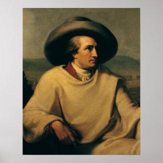 Johann Wolfgang von Goethe Poster