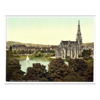 Johannes Kirche, Stuttgart, Wurtemburg, Germany cl Postcard