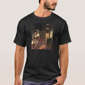 Johannes Vermeer A Maid Asleep T-Shirt