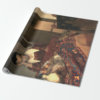Johannes Vermeer A Maid Asleep Wrapping Paper