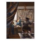 Johannes Vermeer - Allegory of the Art of Painting Postcard