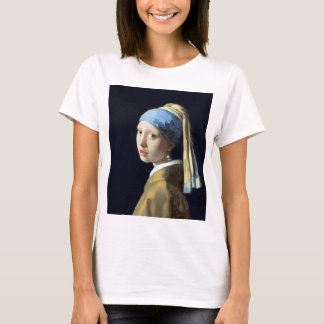 Johannes Vermeer Girl with a Pearl Earring T-Shirt