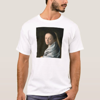 Johannes Vermeer Study of a Young Woman T-Shirt