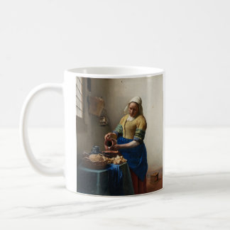 JOHANNES VERMEER - The milkmaid 1658 Coffee Mug