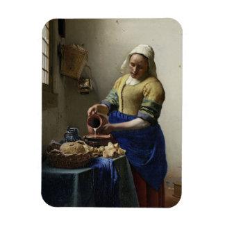 """Johannes Vermeer """"The Milkmaid"""" Magnet"""