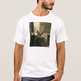 Johannes Vermeer Woman with a Lute T-Shirt
