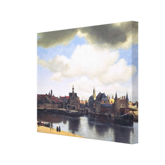 Johannes Vermeer's View of Delft (circa 1660) Canvas Print