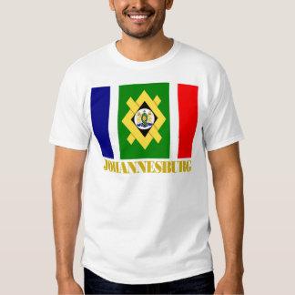 Johannesburg Flag T Shirts