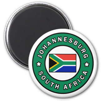 Johannesburg South Africa Magnet