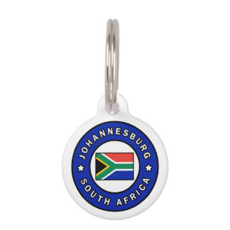 Johannesburg South Africa Pet ID Tag