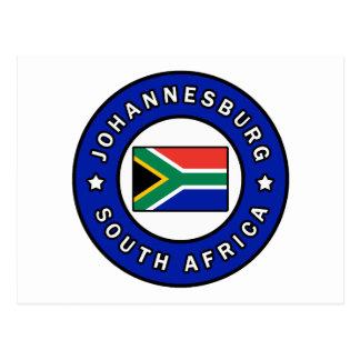 Johannesburg South Africa Postcard