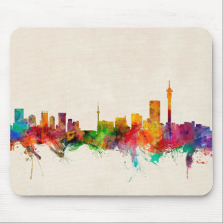 Johannesburg South Africa Skyline Mouse Pad