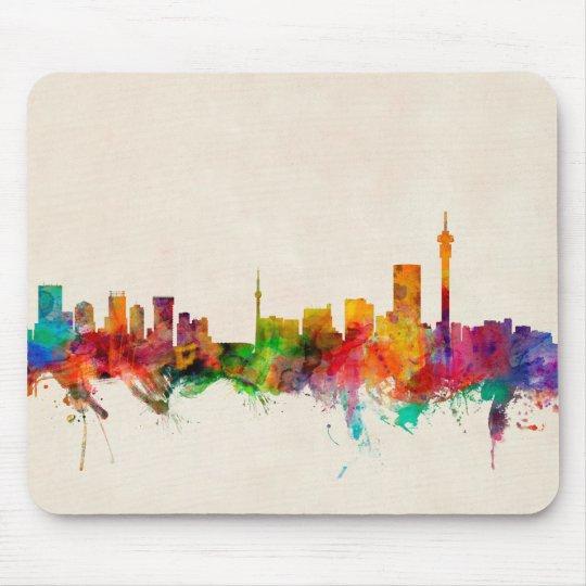 Johannesburg South Africa Skyline Mouse Pad