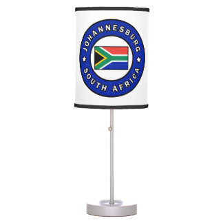 Johannesburg South Africa Table Lamp