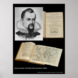 Johannis Kepler & De Stella Nova Poster