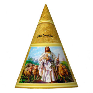 John 10:7-21 I Am the Good Shepherd Party Hat