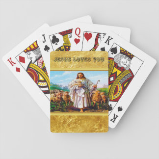 John 10:7-21 I Am the Good Shepherd Playing Cards
