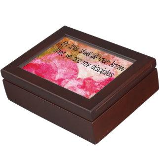 John 13:35 keepsake box
