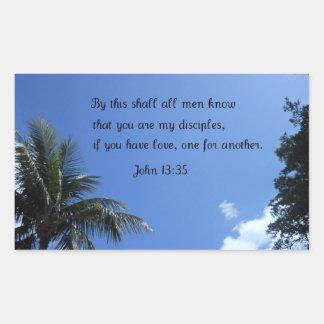 John 13:35 sticker