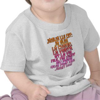 John 14:6 French T Shirts