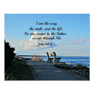 John 14:6  I am the way... Poster