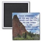 John 14:6 magnet